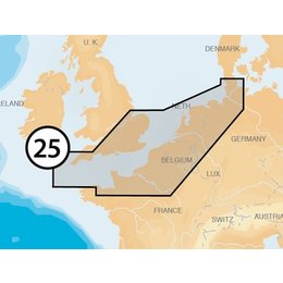 Navionics MSD/25P+ UK South Hamburg