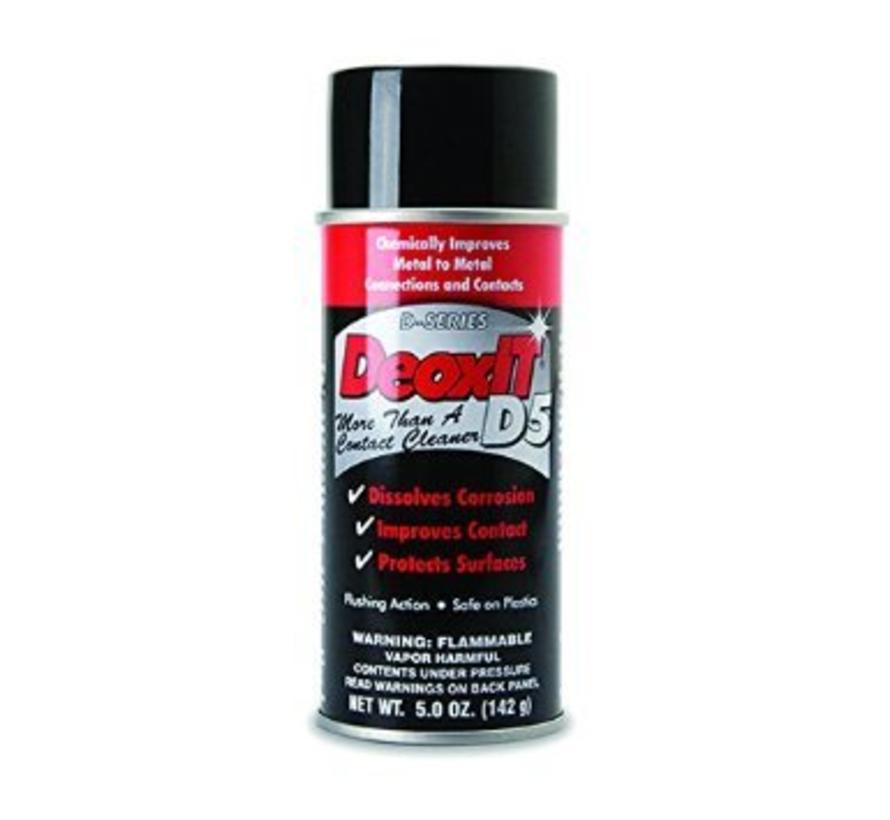 DeoxIT Contact Cleaner 5% Spray