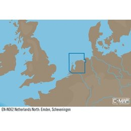 C-Map EN-N062 : Noord Nederland; Emden, Scheveningen