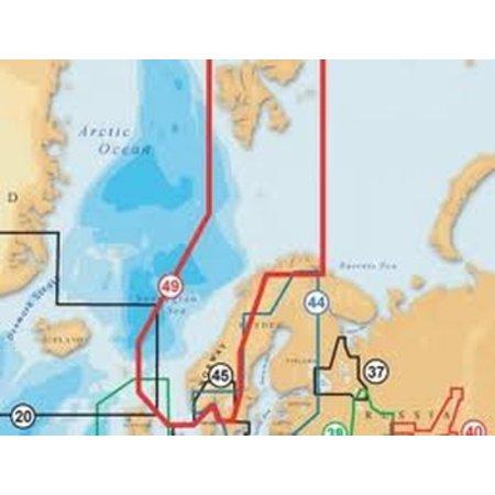 Navionics Noorwegen 49XG XL9