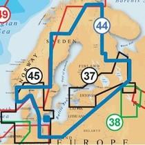Baltische Staten, Finland, Zweden en Noorwegen