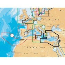 Navionics Europa & Middellandse zee