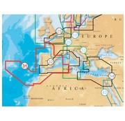 Navionics EU West en Spanje