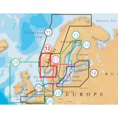 Navionics Noorwegen Zuid en West MSD 12p+