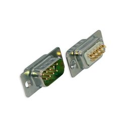 9 polige D-sub male connector (SCP09M)