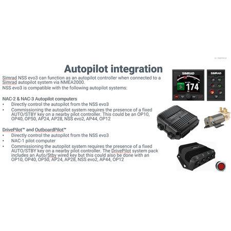 Simrad NSS9 evo3 9-inch display met GPS, sounder en Wi-Fi
