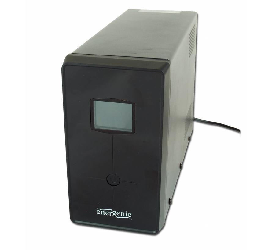 Noodstroomvoeding met LCD, 1500 VA