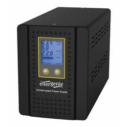 Energenie Omvormer met AVR en batterijmanagementfunctie, 1000 VA