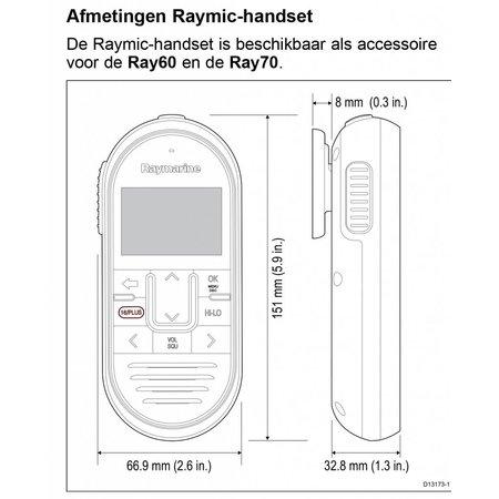 Raymarine Raymic handset
