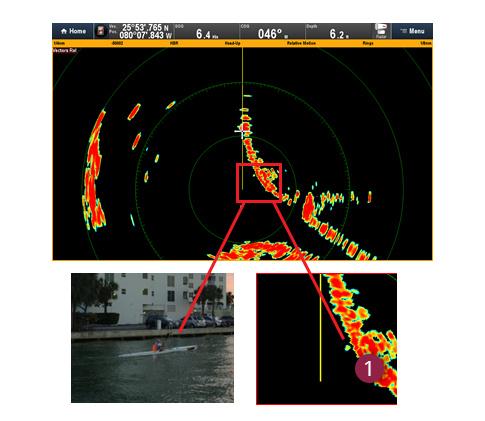 Superieure afbeeldingen door CHIRP-pulstechnologie | Raymarine