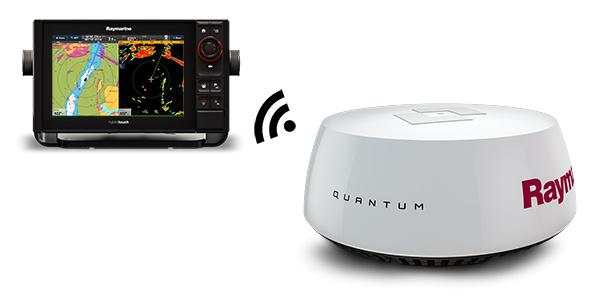 Quantum-radar van Raymarine