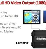 Simrad NSO evo2 processor met twee video uitgangen