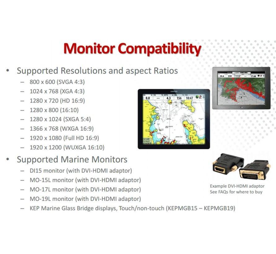 NSO evo2 processor met twee video uitgangen