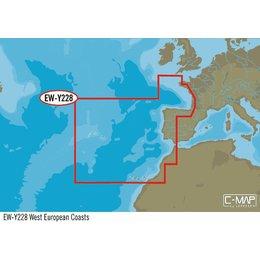 C-Map EW-Y228 West Europese kust