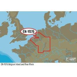 C-Map EN-Y076 België binnenland en de Rijn