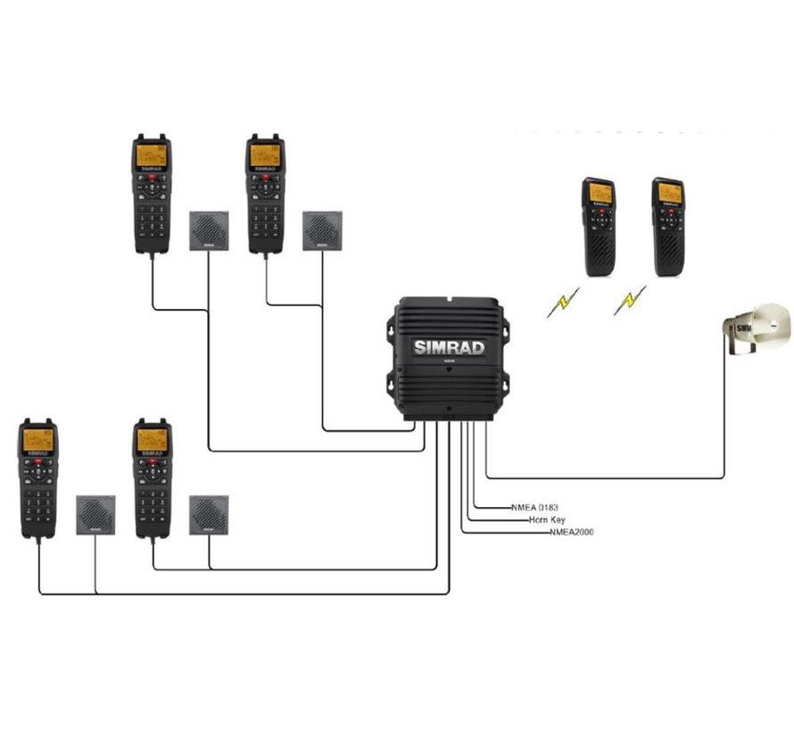 HS90 handset voor de RS90 VHF