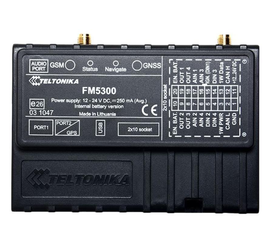 FM5300 GPS tracker met GLONASS / GPS locatiebepaling