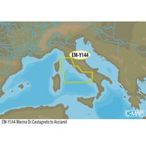 Marina di Castagneto tot Acciaroliem EM-Y144