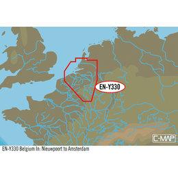 C-Map EN-Y330: Belgium In:Nieuwpoort To Amsterdam