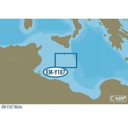 C-Map EM-Y107 : Malta