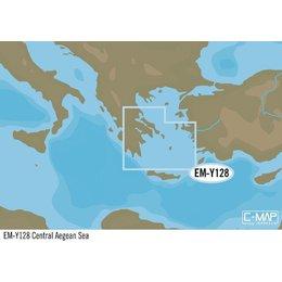 C-Map EM-Y128: Central Aegean Sea