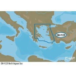 C-Map EM-Y129 : North Aegean Sea