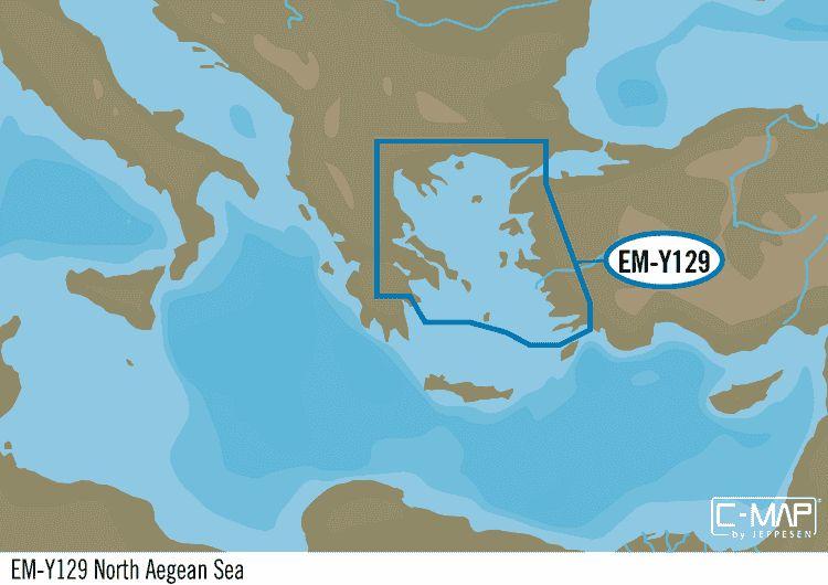 Egeïsche Zee, noord