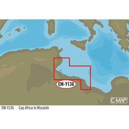 C-Map EM-Y136: Cap Africa To Misratah