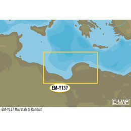 C-Map EM-Y137: Misratah To Kambut