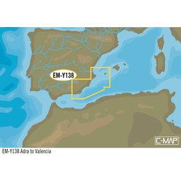 C-Map EM-Y138: Adra To Valencia