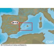 Alicante tot c.Tortosa en Balearische Eiland