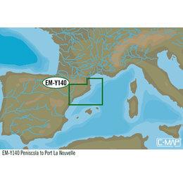 C-Map EM-Y140: Peniscola To Port La Nouvelle