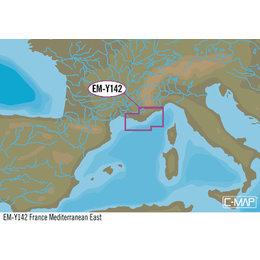 C-Map EM-Y142: France Mediterranean East