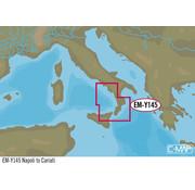 C-Map Napels tot Cariati