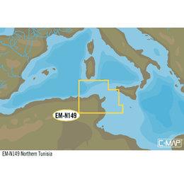 C-Map EM-Y149: Northern Tunisia