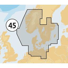 Navionics MSD/45XG Skagerrak Kattegat