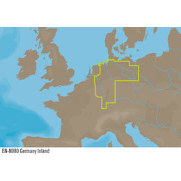 C-Map N080 : Germany Inland