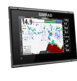 Simrad GO7 XSR kaartplotter en radar display