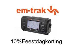 Em-trak Ais transponders met 10% korting
