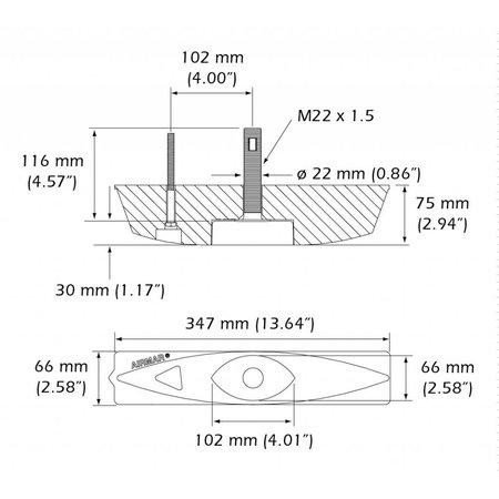 Airmar Xsonic B45
