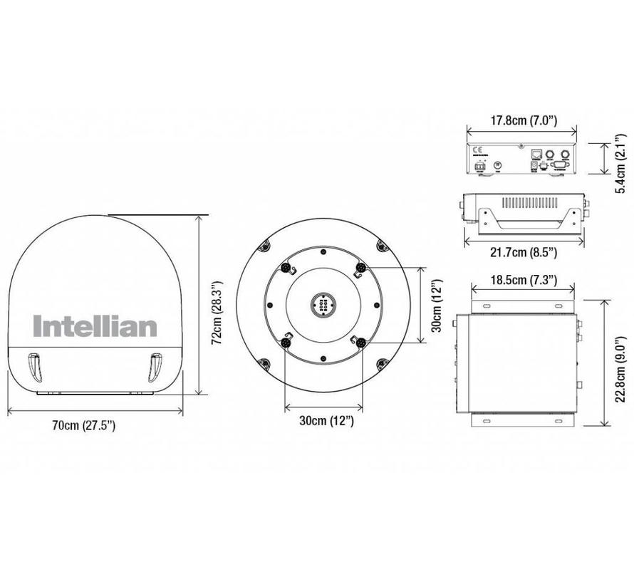 I6L Inland/Binnenvaart 60cm, quad out, 20gr/sec