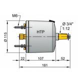 Vetus HTP20 stuurpomp voor 8mm leiding