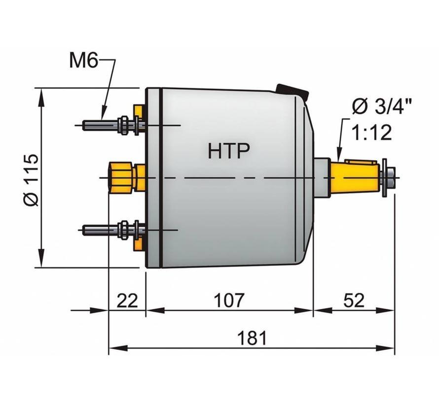HTP20 stuurpomp voor 8mm leiding