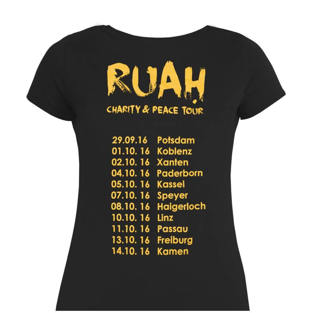 """Damen Tour-Shirt """"RUAH"""""""