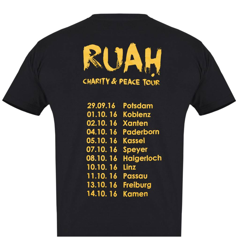 "Herren Tour-Shirt ""RUAH"""