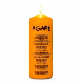 """Kerze """"AGAPE"""""""