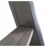 Driedelige ladder 3x14 Maxall uitgebogen