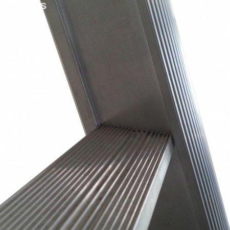 Driedelige ladder 3x8 Maxall uigebogen