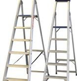 Enkele trap  1x6 treden