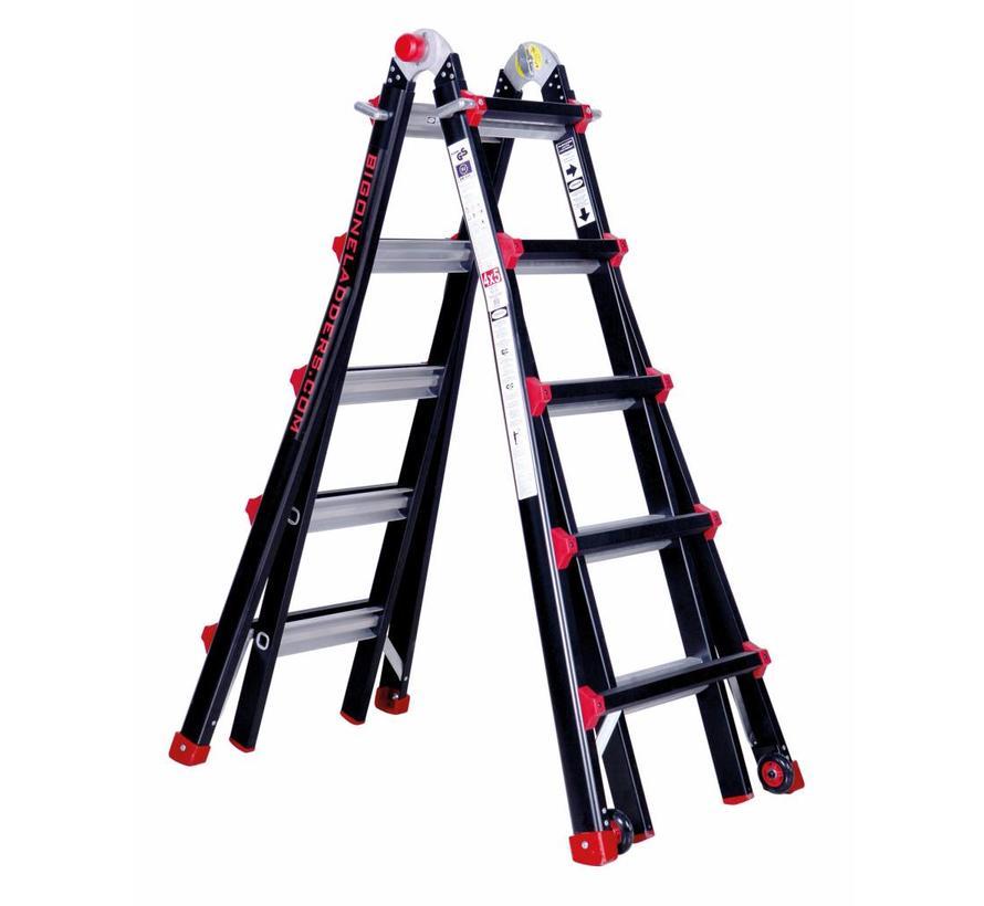 Multifunctionele ladder Big One 4x5